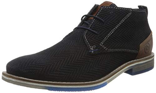 bugatti Herren 322845301400 Klassische Stiefel, Blau, 44 EU