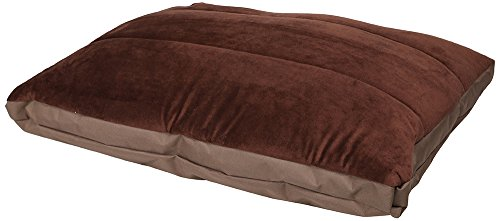 HappyCare Textiles One Side Water-Proof Heavy Filling Pet Mat with Zipper Detachable, Brown Review