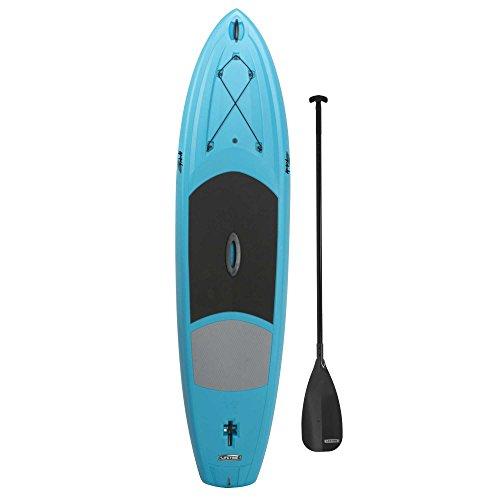 Lifetime Amped Hardshell Paddleboard with Paddle, 11', Glacier Blue