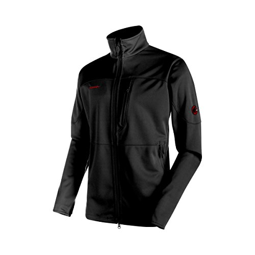 Mammut Herren Softshelljacke Ultimate, black, S, 1010-14920-0052-113