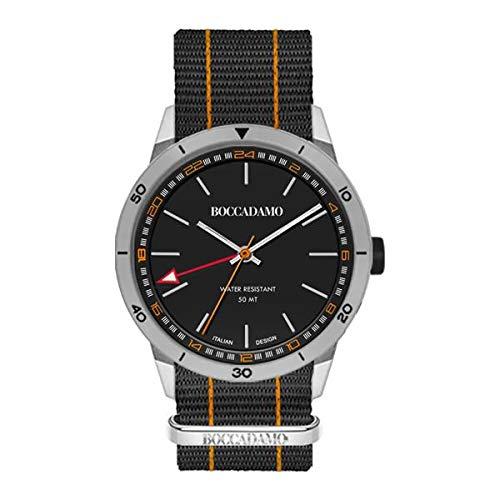 orologio solo tempo uomo Boccadamo Navy casual cod. NV025