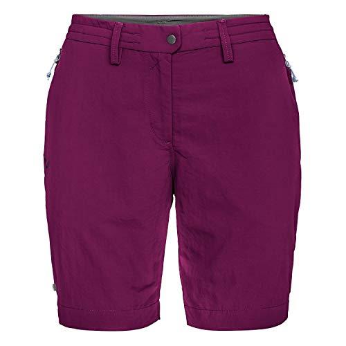 Salewa PUEZ Dry W Shorts Femme, Dark Purple, FR : XS (Taille Fabricant : 40/34)