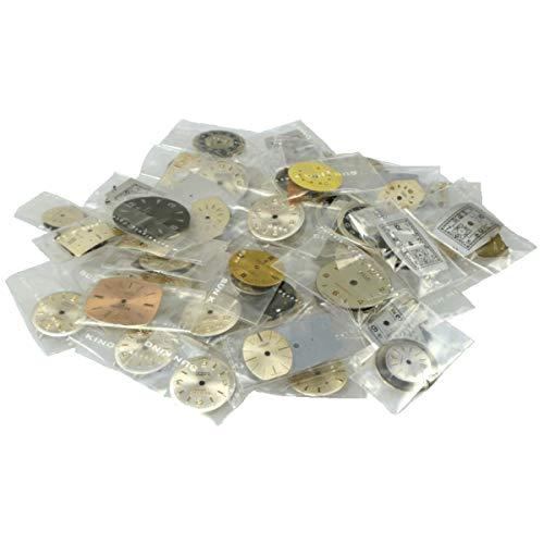 Konvolut Zifferblätter für mechanische Uhren - meist aus schweizer Markenuhren