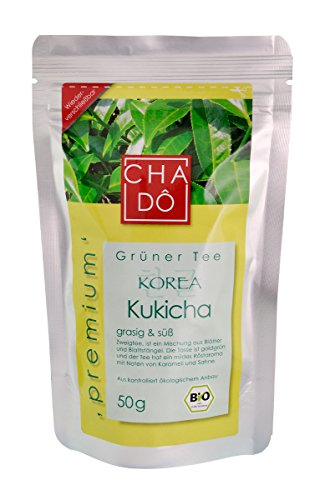 Cha-Do Korea Kukicha grüner Tee, 50 g