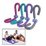 CaOJing Attrezzatura per Il Fitness Muscolare della Coscia,Multifunzione Espansore per Bodybuilding Ginnico per La Tonificazione del Braccio per Ginnastica Domestica (Rosa)