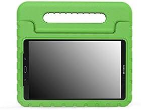 Funda protección diseñada Especialmente para los niños Kids Compatible con Samsung Galaxy Tab A 10.1 (SM-T580 / SM_T585) Color Verde