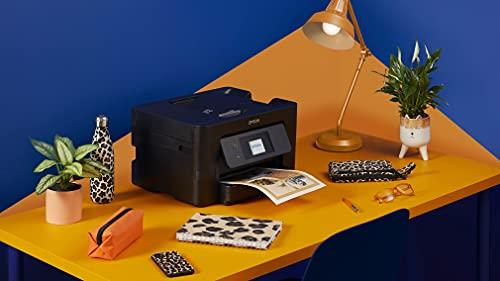 Epson WorkForce Pro | WF-3820DWF | Drucker für Chromebook | 4-in-1 Tintenstrahl-Multifunktionsgerät (Drucker, Scanner, Kopierer, Fax, ADF, WiFi, Ethernet, NFC, Duplex, Einzelpatronen, DIN A4) - 6