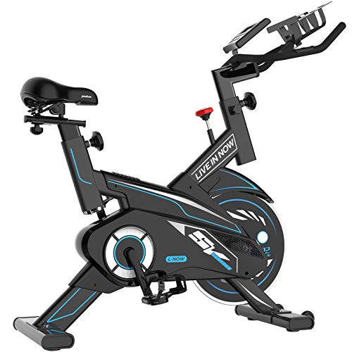 Indoor Exercise Bike, pooboo Magnetic Cycling Bike Belt...