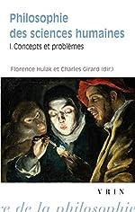 Philosophie des sciences humaines. Concepts et problèmes de Florence Hulak
