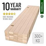 Hansales Rollrost 140x200cm - 300 kg 25 Leisten - Hochwertiger