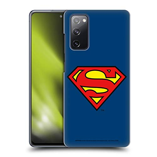 Head Case Designs Officially Licensed Superman DC Comics Classic Logos Hard Back Case Compatible with Samsung Galaxy S20 FE / 5G