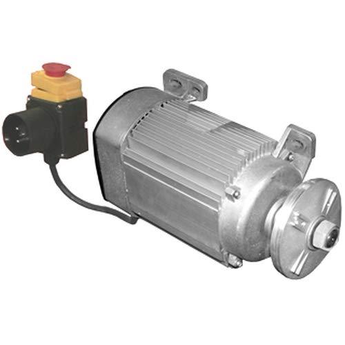 ATIKA Ersatzteil | Motor mit Schalter und Sägeblattflansch für Wippkreissäge BWS 400