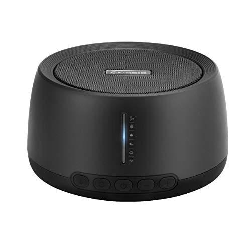 White Noise Machine,Exmate Tragbar Weißes Rauschen Maschine,30 HiFi Beruhigenden Geräuschen,Timern und Memory-Funktion,für Zuhause,Büro,Reisen,USB Angetrieben(Adapter NICHT Enthalten)