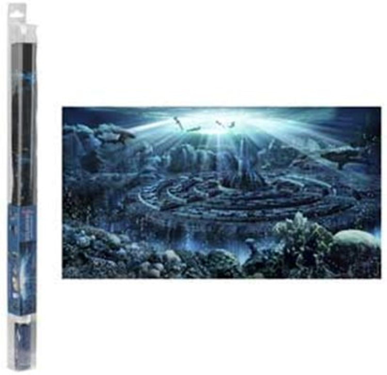 Hydor H2Show Atlantis background -* Application Gel 31.5 x 15.75