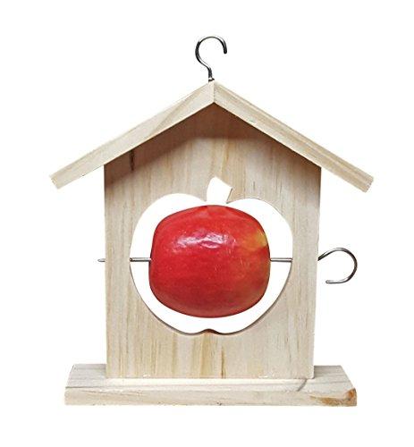 Fachhandel Plus Meisenknödelhalter \'Apfel\', Vogelfutterstation, Futterspender, Futterstation NEU