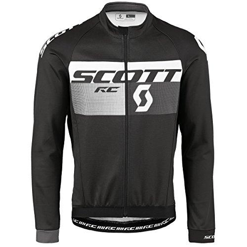 Scott RC AS WP Maillot de vélo d'hiver noir/gris 2017 XXL Noir/gris foncé