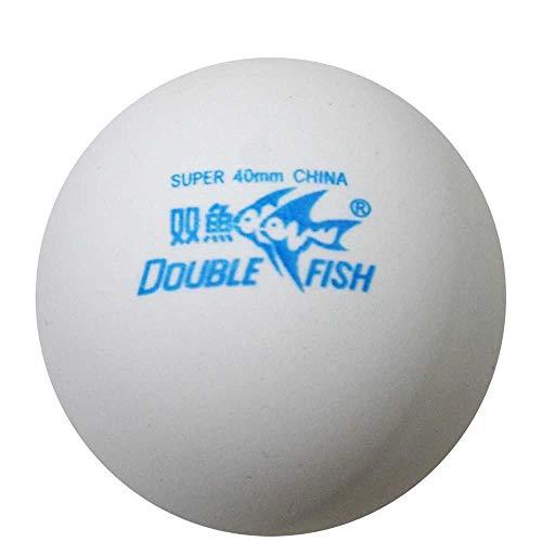 Double Fish - Palline da ping pong a forma di stella per allenamento, 50 pezzi