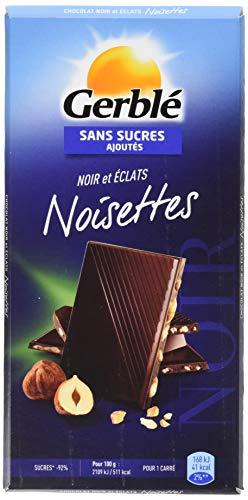 Gerblé Chocolat Noir Noisettes 80 g