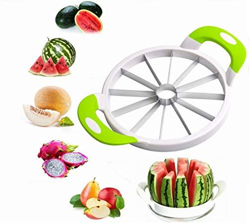 Cortador de melancia YUL de aço inoxidável, cortador multiuso para cozinha