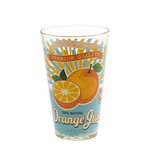 BOROSILICATE Borosilikat Nadia m56290Set 6orange Juice 31cl, Glas, transparent, 8x 7x 12cm
