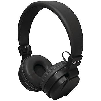 Billbord Bluetooth Wireless Over-Ear Headphones - Black