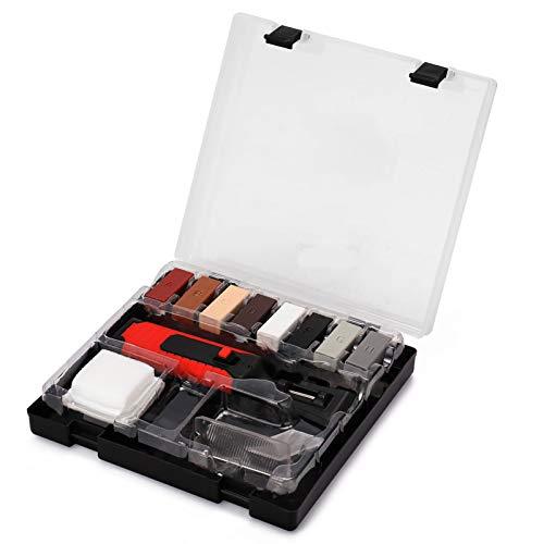 KKmoon Kit di Riparazione in Laminato Sistema di Cera Piano di Set di Strumenti per la Riparazione di Piastrelle di Ceramica Graffi Set di Strumenti di Riparazion