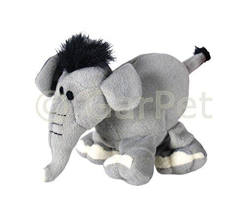 GarPet Hundespielzeug Hunde Spielzeug Plüschtier Quietscht Elefant Elephant plüsch