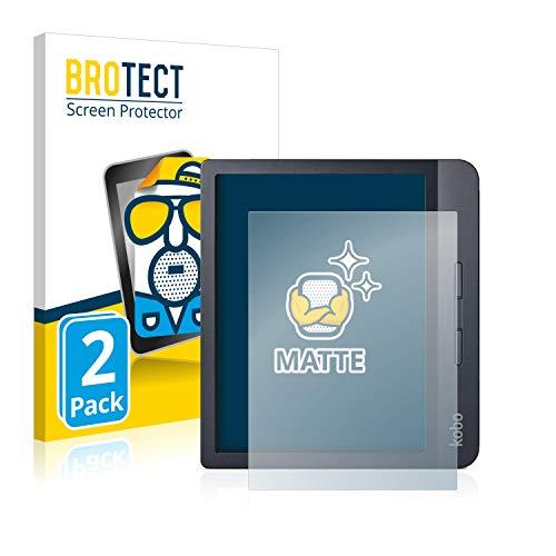 BROTECT 2X Entspiegelungs-Schutzfolie kompatibel mit Kobo Libra H2O Displayschutz-Folie Matt, Anti-Reflex, Anti-Fingerprint