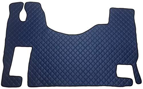Unbekannt Juego de alfombrillas para ACTROS MP2 MP3, accesorios interiores automáticos para camiones, decoración, alfombra azul de piel sintética