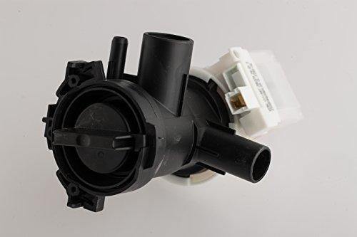 daniplus 00145212 145212 - Pompa di scarico, con attacco per pompa, filtro adatto per lavatrice Bosch Siemens
