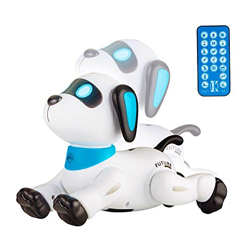 Remote Control Robot Dog for Kids Programmable Puppy Robotic Toys Electronic Pets for Ages 3, 4, 5, 6, 7, 8, 9, 10 Year Old Boys and Girls Gifts