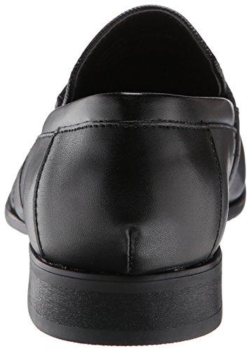 Calvin Klein Men's Bartley Oxford, Black Diamond Leather, 9 M US