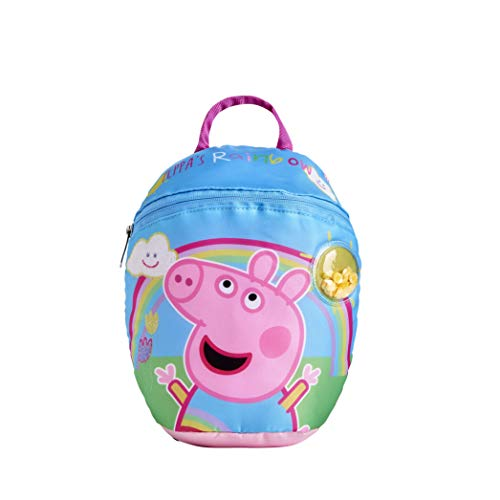 Peppa Pig Rainbow Backpack with Reins for Toddlers
