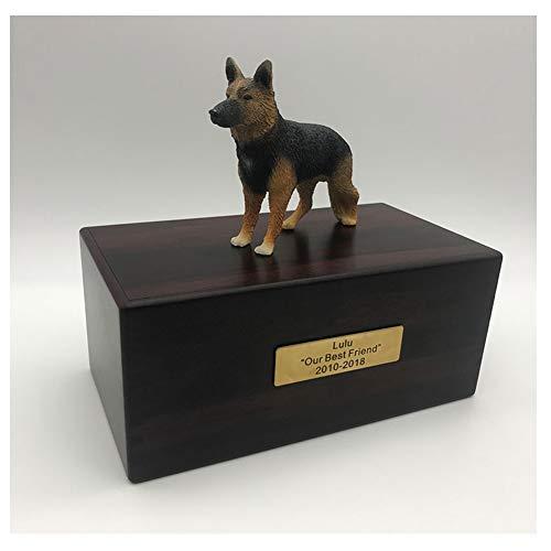 ASDFGHJKL Ataúd del Animal Doméstico para Los Perros Ataúd Entierro De Madera para Perros Y Gatos Perro De Madera De La Caja De Entierro