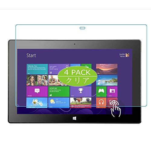 Vaxson 4 Stück Schutzfolie kompatibel mit Microsoft Surface Pro 2 10.6