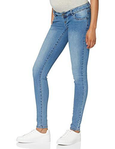 MAMALICIOUS Damen MLONO Slim A. NOOS Jeans, Wash:Washed Light Blue Denim, 30/32