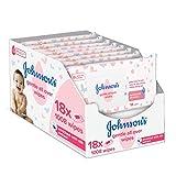 Johnson's Baby Toallitas suaves para todo tipo de bebés, 18 x 56 - Total 1008...