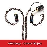 TRN T4単結晶銅リケーブル8芯アップグレードケーブル (MMCX2.5)