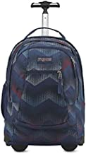 JanSport JS00TN8940L Driver 8 Backpack, Matrix Chevron Navy