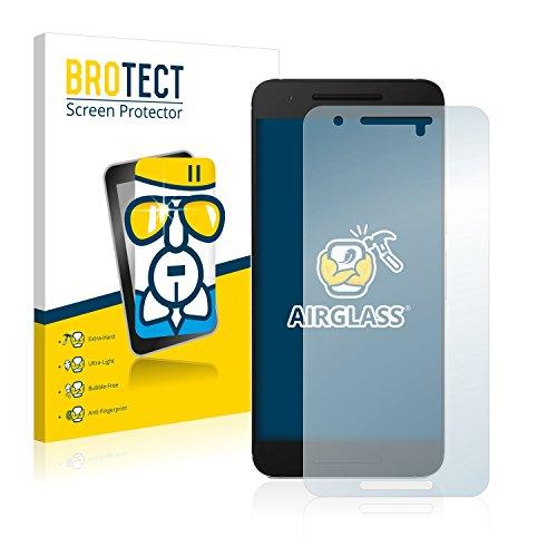 BROTECT Protector Pantalla Cristal Compatible con Huawei Nexus 6P Protector Pantalla Vidrio - Dureza Extrema, Anti-Huellas, AirGlass