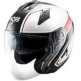NOS Helmets Casco NS-2 S-M Sting Red