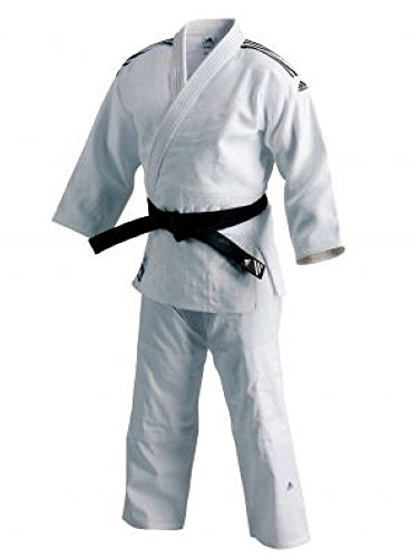 adidas J930 campeón Traje Kimono de Judo Gi - Blanco, Color, tamaño 6/190 cm