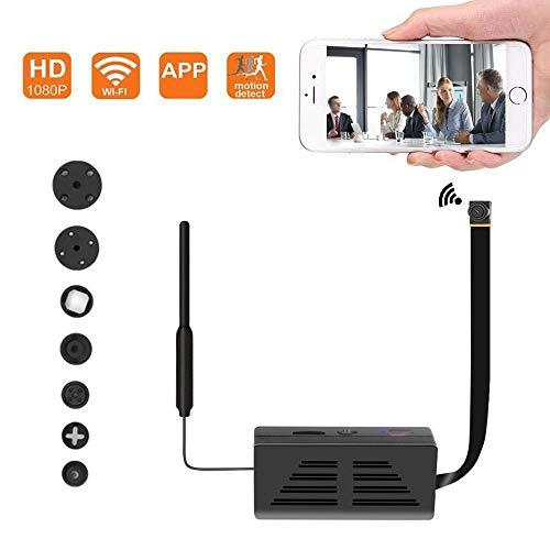 Cámara Oculta espía WiFi, cámara inalámbrica de Seguridad 1080P Video con detección de Movimiento, Control de aplicación para iOS y Android