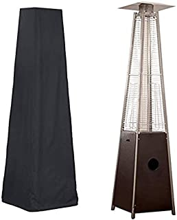 Heizpilzabdeckungs-Schutz-/Überdachungs-Heizpilz-Staubschutz f/ür Gartenterrasse im Freien S-Beige + Braun 210D Oxford HERCHR Heizpilzabdeckung 3 Farbe