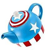 Funko MV03407 MARVEL Teapot: I Am Captain America, Ceramic, Blue, 14 x 9.5 x 13.3 cm