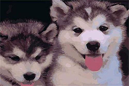 HCYEFG Puzzles 150 Piezas, Cachorros De Perro De Trineo, para Adultos Niños Personalizado, Dar A Los Niños Grandes Regalos Educativos, 10X15Cm
