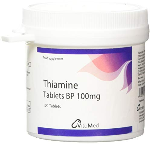 Vitamed Thiamine 100mg 100 Tablets