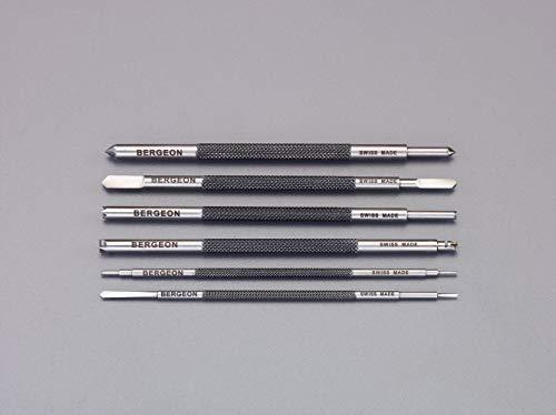 エスコ(ESCO) 精密カッターセット(6本組/両刃) EA824DA-21