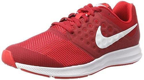 Nike Downshifter 7 Gs, Zapatillas de Running para Niñas, Rojo (Univ Red/White/Tough Red/Black), 38.5 EU