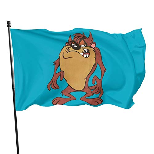 tasmanian devil flag - 4